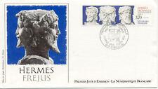 Enveloppe 1er Jour FREJUS 11/06/1988 hermès mise en page DRUET timbrée
