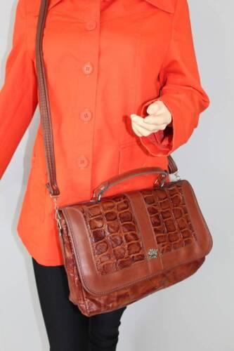 Okaysac Leder 70er Leather Okay Messenger Vtg Satchel Sac Tasche Bag 70s Vintage FFgr1SH