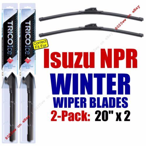 35200x2 WINTER Wiper Blades 2pk Premium fit 1996 Isuzu NPR