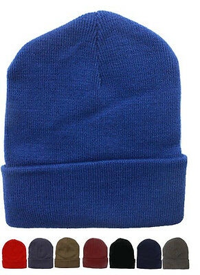 Wholesale 144pc Lot Solid Color Beanie Winter Knit Hats Assorted Color Beanies