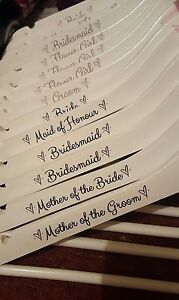 Personalised-Coat-hanger-sticker-vinyl-decal-Wedding-Bridal-Party-Gift-Favours