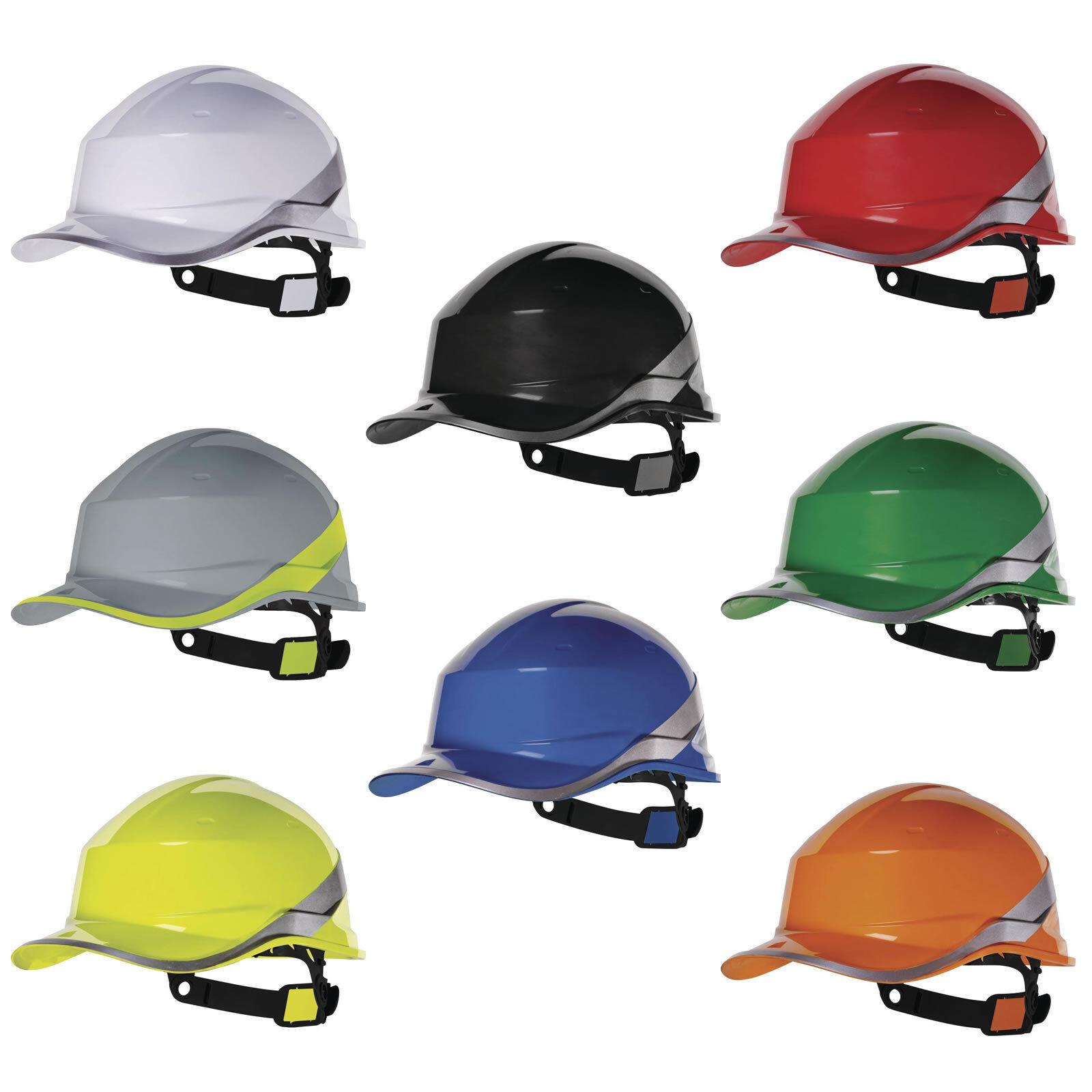 5 x Delta Sécurité Plus Diamond V chapeau dur casque Sécurité Delta Haute Visibilité HI VIZ Builders ffd95e