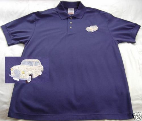Austin A35 embroidered on Polo Shirt