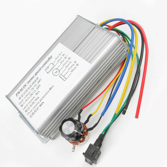 80A PWM PULSE WIDTH MODULATOR CONSTANT w// AUTO-PROTECTION TO ANY 12V HHO CELL