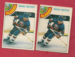 2-X-1978-79-OPC-10-ISLANDERS-BRYAN-TROTTIER-CARD