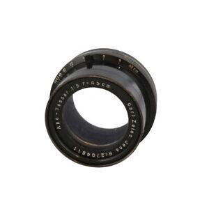 Vintage Carl Zeiss Jena 45cm f/9 Apo-Tessar Barrel Lens - UG