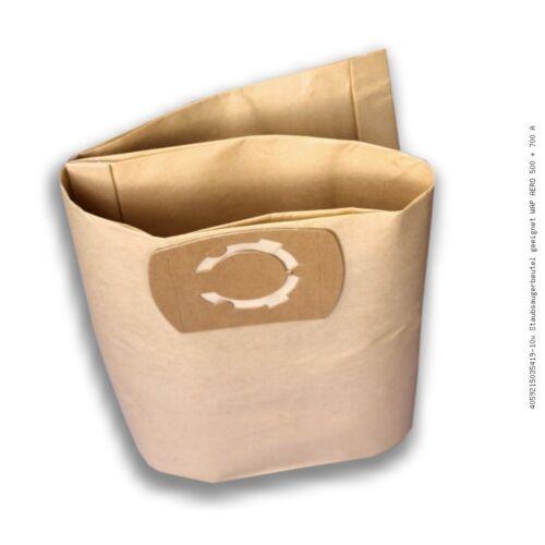 700 A Filterbeutel Beutel Säcke 10 Staubsaugerbeutel geeignet für WAP AERO 500