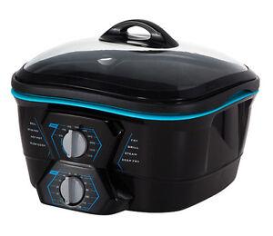 Robot-de-cocina-multifuncion-8-en-1-freidora-horno-plancha-parrilla-5L-1500W