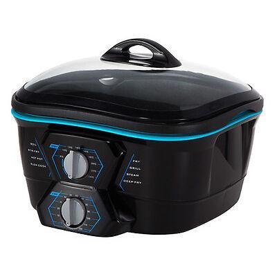 Robot de cocina multifuncion 8 en 1 freidora horno plancha parrilla 5L 1500W