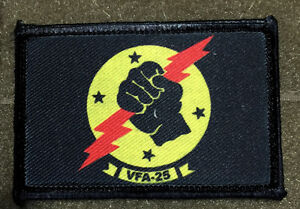 VFA-25-Strike-Fighter-Squadron-F-A-18-Hornet-Morale-Patch-Military-Tactical-FLAG