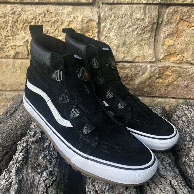 7ac4a89bca1 New! VANS Sk8-Hi Boot MTE BOA Black/True White SOLD OUT IN STORES Men's  Size 13