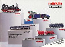 Katalog Märklin Gesamtprogramm 1992 1993 372 S. 0,83 kg Marklin Broschüre german