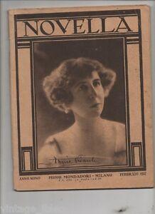 Febbraio-1927-NOVELLA-Rivista-letteraria-Guardando-una-stampa-di-L-Pirandello
