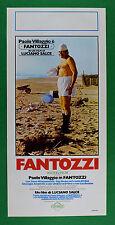 L30 LOCANDINA FANTOZZI PAOLO VILLAGGIO 1 EDIZIONE ITALIANA ANNO 1975