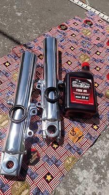 Harley Touring 2000-2013 Polished Fork Sliders