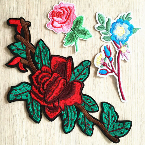 Embroidered Patches To Clothing Iron on Badge Clothes Sticker Stripes Applique