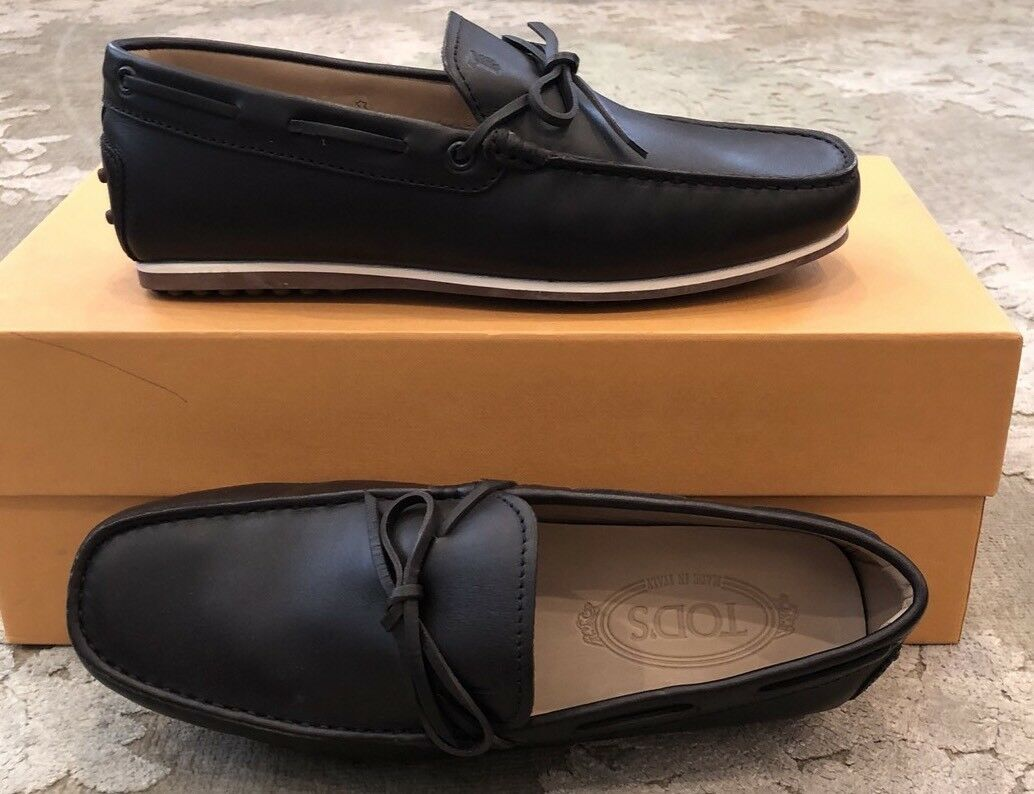 New Tods Mens Dark Brown shoes Gommino Loafers 6.5 US 5.5 EU