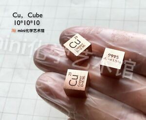 1-Piece-99-95-High-Purity-Copper-Cu-10mm-Cube-Carved-Element-Periodic-Table