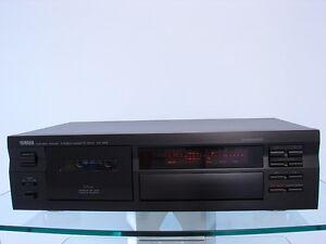 Yamaha-KX-493-Kassettendeck-in-schwarz-Play-Trim-inkl-Zub-12-Mon-Garantie