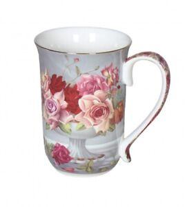 Serenity-Rose-405cc-Mug-Fine-Bone-China-Coffee-Tea-Cup-Mug-Xmas-Gift