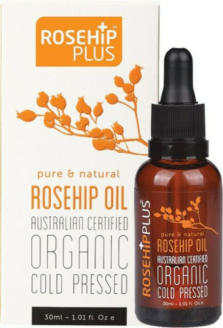 Rosehip Plus Rosehip Oil Aco Certified & Cold Pressed 30ml