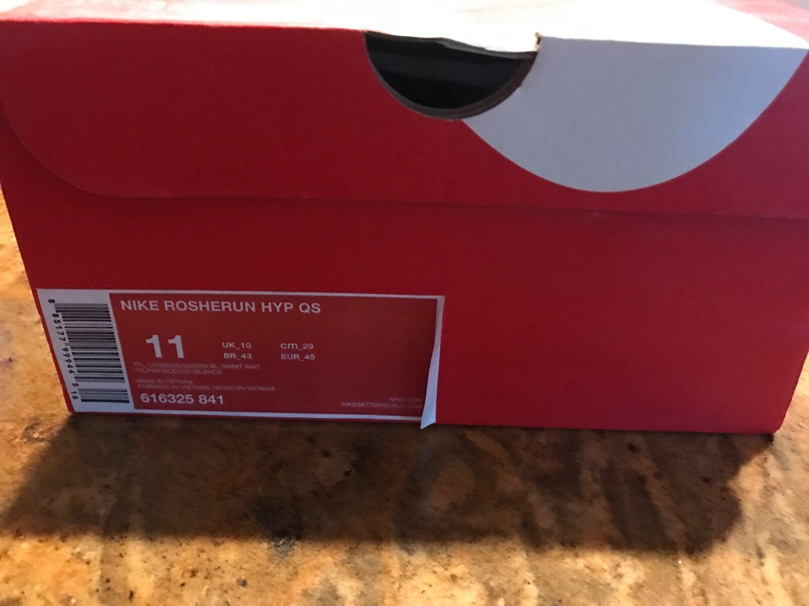 Nike Roshe Run HYP QS 11 616325 841 BNIB DEADSTOCK