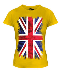 UNION JACK GRUNGE FLAG KIDS T-SHIRT TEE TOP UK GB GREAT BRITAIN UNITED KINGDOM