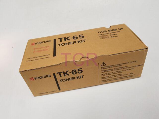 Genuine Kyocera TK-65 Black Toner (20K Pages) Ecosys 3820/3830