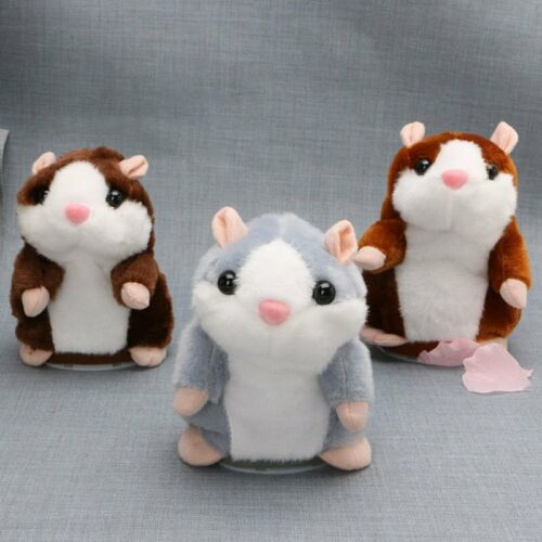 Talk Hampster Speak Record Voice Plush Funny Cheeky Talking Hamster Gift Hot