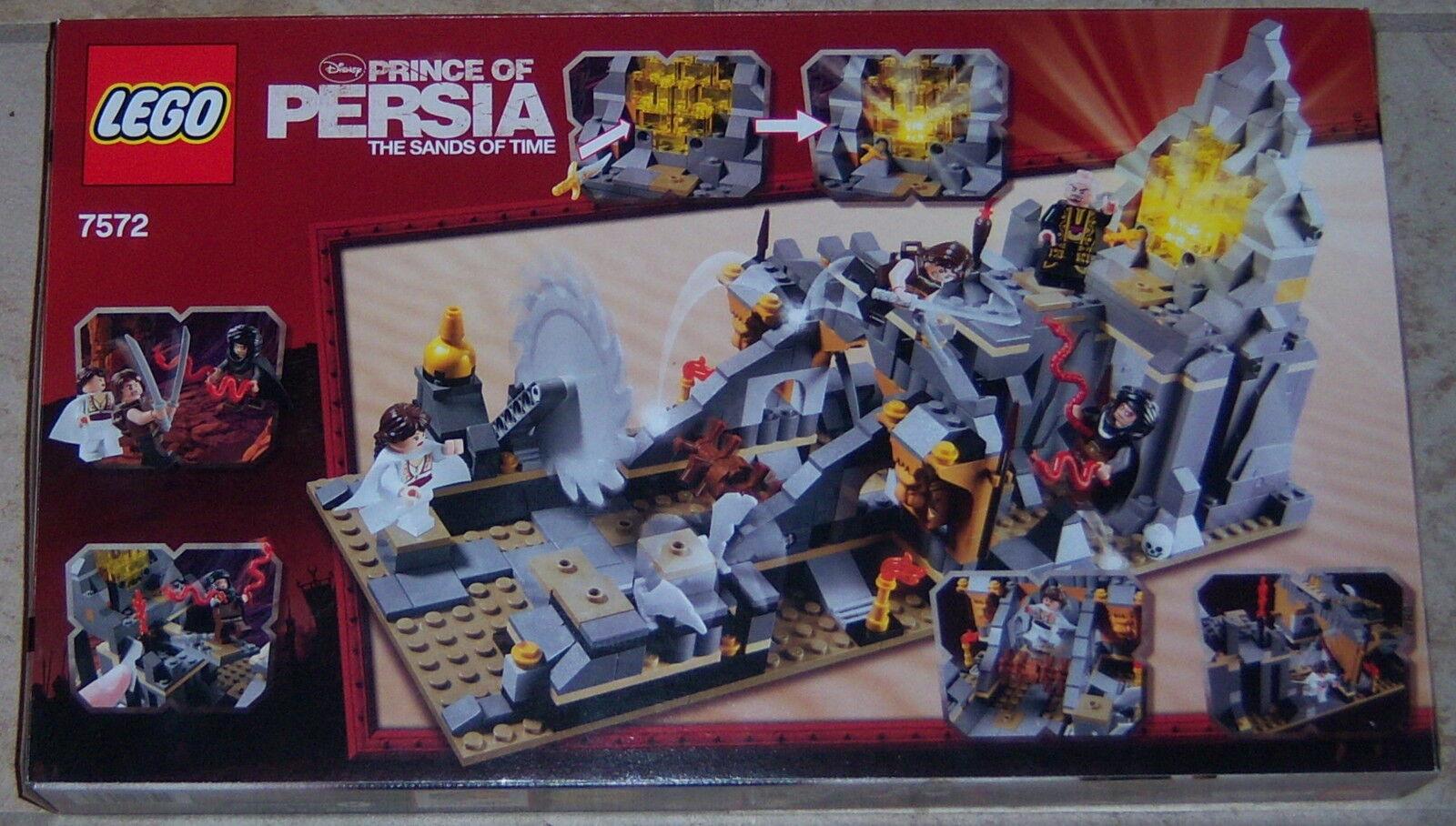 Juego De Lego 7572 Quest contra el tiempo Prince of Persia 506pc Como Nuevo Caja Sellada Nuevo