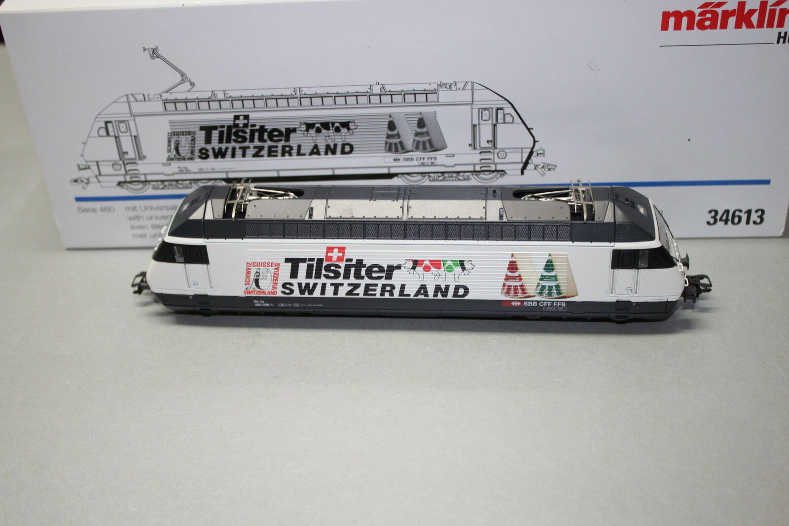 Märklin 34613 elok re 460 020-1  Tilsiter Switzerland  Spur h0 OVP