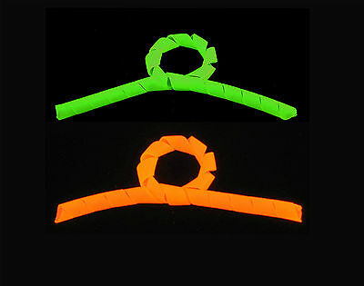 "14/"" UV Zip Ties Pick Color Fluorescent  Neon 10 Pack Green Orange Yellow"