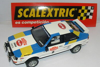 Popular Brand Scalextric Spain Altaya Camp Kinderrennbahnen Der Rally Audi Quattro Blomqvist-cederberg Mint Special Summer Sale
