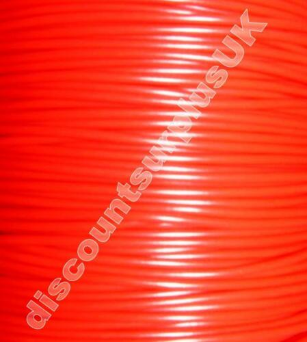 Reel of 50m DBE1598R *RR26* 50m SINGLE CORE AUTO RED WIRE 9//0.3