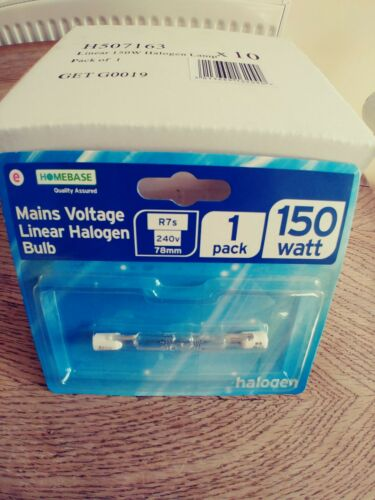 Halogen R7s 150w Bulb Box of 10