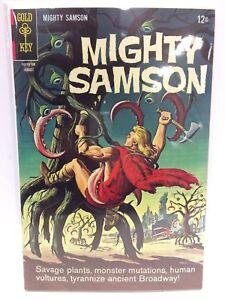 Mighty-Samson-11-Comic-Book-Gold-Key-1967