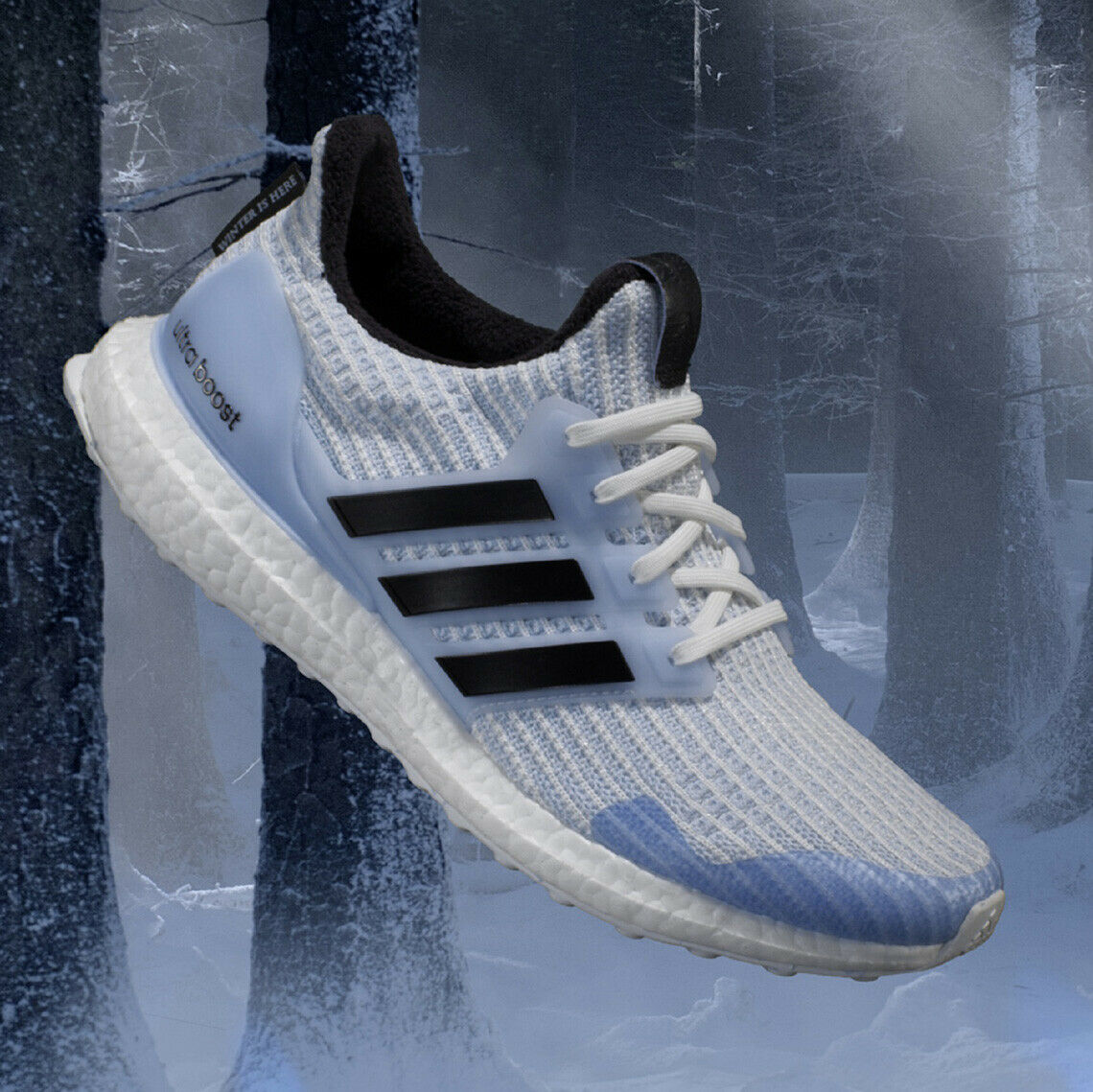 Adidas Ultra Boost 4.0 Game of Thrones White Walkers Size 11.5. EE3708 yeezy nmd