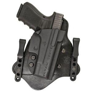 Comp-Tac C225GL052RBSN MTAC Kydex Glock 19 Gen 1/2/3/4/5 RH IWB CCW Holster