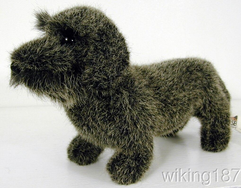 KOSEN Made in Germany NEW Wire Hairosso Dachshund Dog PLUSH TOY