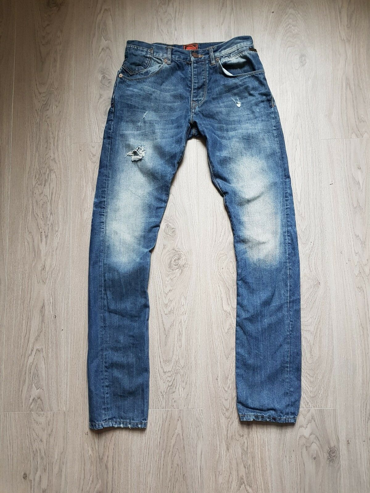 Mens Superdry Jeans - Size Medium 30inch Waist - RRP  (Worn once)