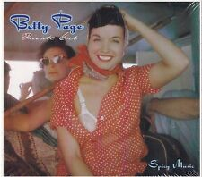 "BETTY PAGE - ""PRIVATE GIRL: SPICY MUSIC""  LP  GERMAN IMPORT BETTIE"