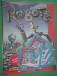 CV-Album-figurine-ROBOTS-PANINI-VUOTO-EMPTY-5-Bustine