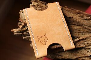 Card-Holder-Handmade-With-Italian-Leather-Colour-Naturale-With-White-Thread