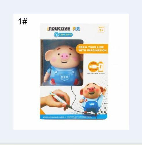 Line Sense Follows The Pig Follow My Path Pen Inductive Toy