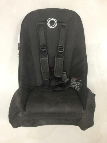 one black seat liner fabric with harness for the Bugaboo Donkey stroller