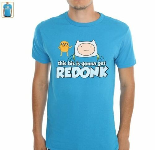Adventure Time Finn /& Jake Gonna Get Redonk  Mens Licensed T-Shirt S-2XL