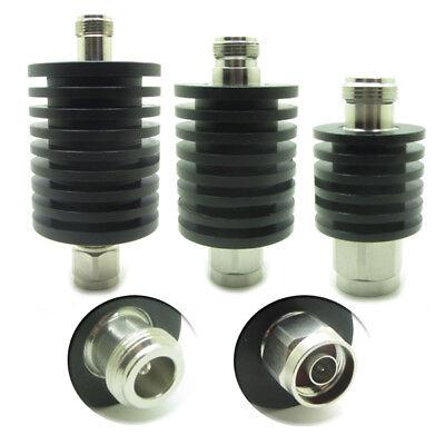10W 1dB-40dB N Type Male to Female Round RF Coaxial Attenuator 3.0GHz 50 Ohm