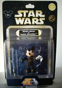 Star tours star wars mickey mouse as anakin skywalker series 2 figure