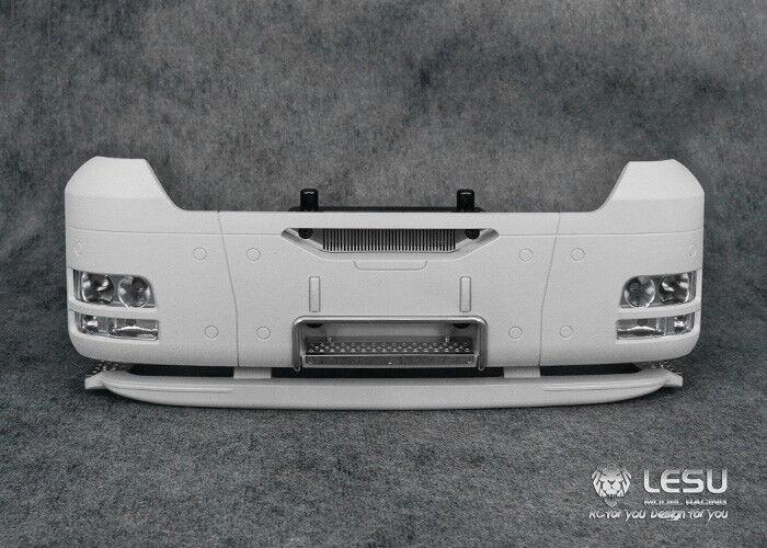 Metal Lower Front Bumper for 1 14 Scale LESU MAN TGX Dumper RC Cars Model Part