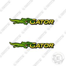 John Deere Running Gator Decal Utility Vehicle Decal Set Of 2